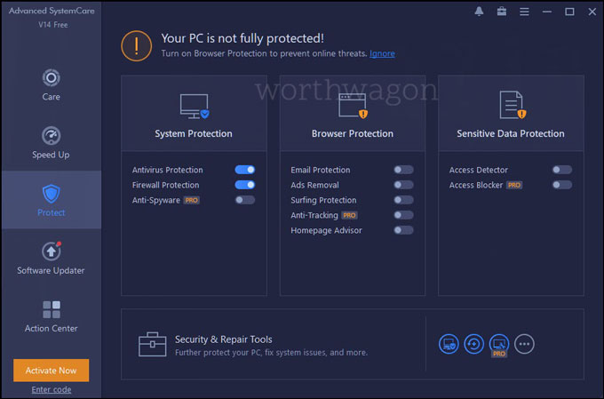 Advanced SystemCare 14 PRO Protect