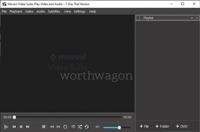 Movavi Video Suite 2021 Media Player