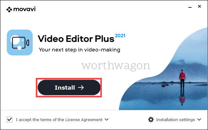 movavi video editor plus 2021 installer