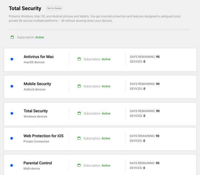 Bitdefender 90 days Total-Security