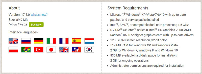 Movavi System Requirements