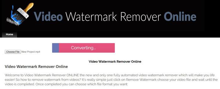 Remove Watermark Online