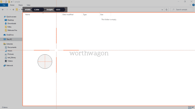 Record Screen using Movavi Screen Recorder